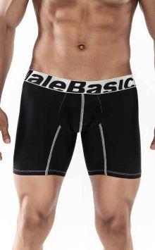 Boxer Brief Microfiber Black MALEBASICS