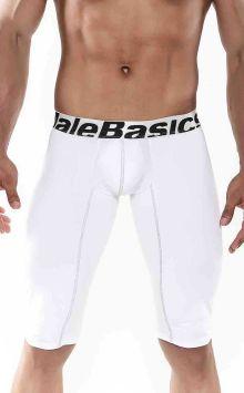 mens underwear athletic boxer brief microfiber white