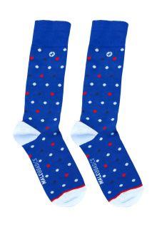 Malebasics Fun Socks-Polka