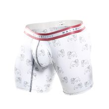 SoCal Bulldog Boxer Brief White