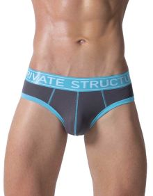 Private Structure Soho Luminous Briefs teal