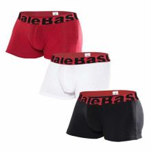 Back  View Trunk Boxer Shorts 3-Pack Multi MALEBASICS