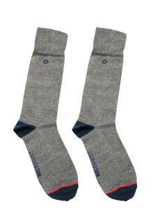Malebasics Dress Sock-Gray