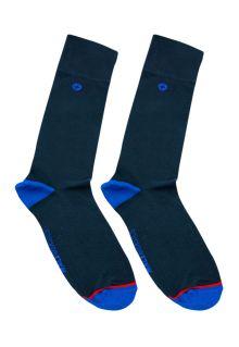 Malebasics Dress Sock-Navy