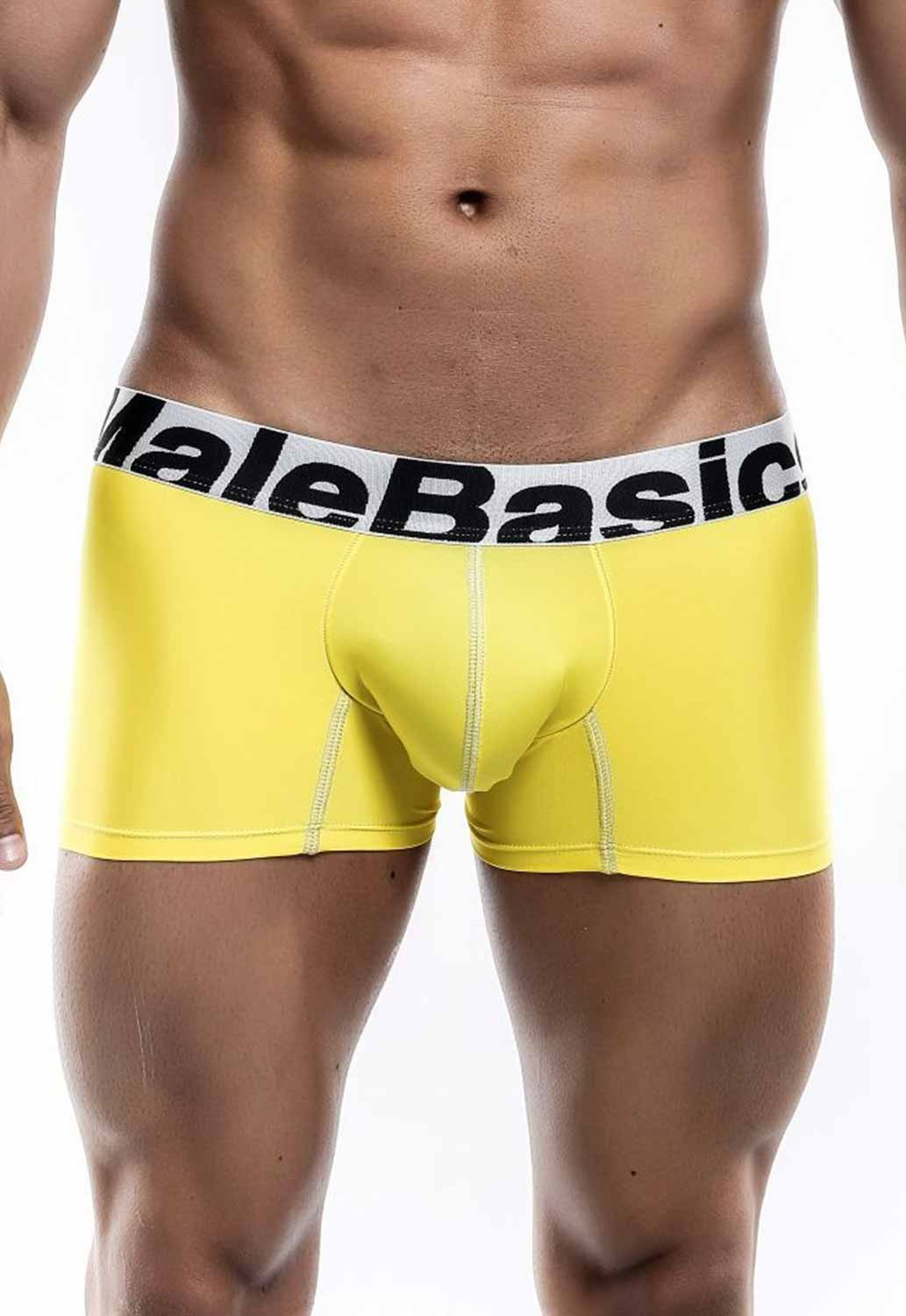 thumbnail 14 - Malebasics Men's Microfiber Short Boxer MBM01Y Men's Trunks
