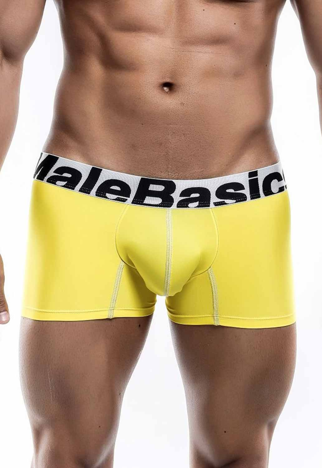 thumbnail 11 - Malebasics Men's Microfiber Short Boxer MBM01Y Men's Trunks