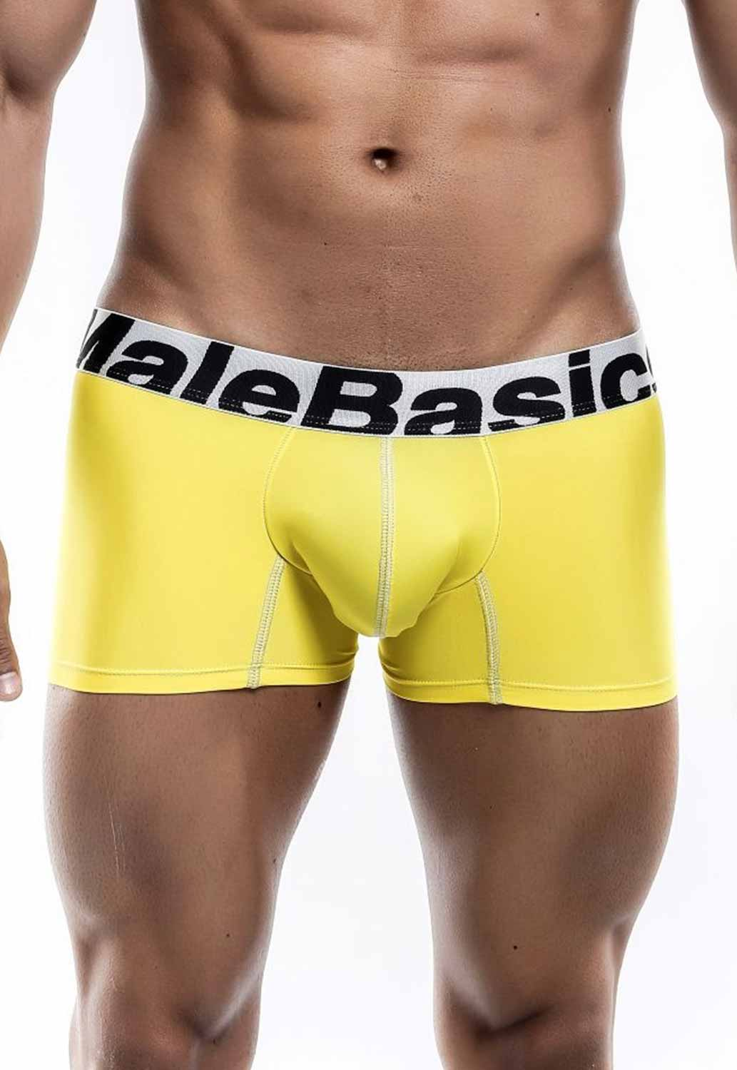 thumbnail 5 - Malebasics Men's Microfiber Short Boxer MBM01Y Men's Trunks